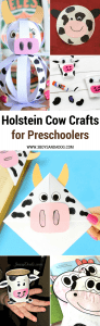 18 Holstein Cow Crafts and Activities for Little Ones