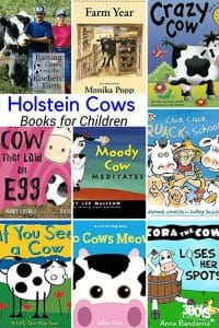 Books about the Holstein Cow for Children