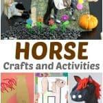 Horse Crafts for Preschoolers – Farm Activities for Kids