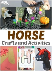 Horse Crafts and Activities