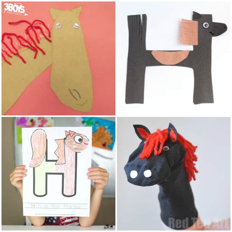 Horse Crafts and Activities for Kids to Try