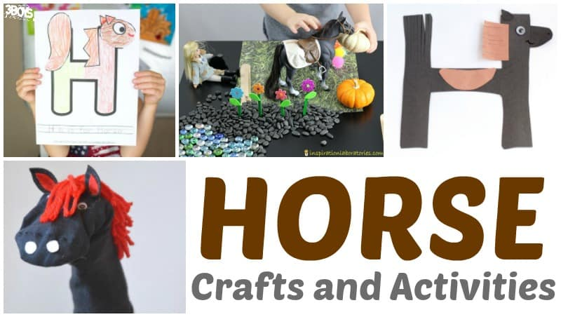 Horse Crafts and Activities for Kids
