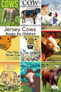 Books about the Jersey Cow for Children