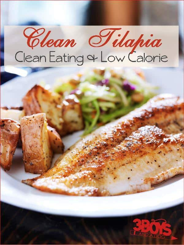 Clean Eating Tilapia Recipe