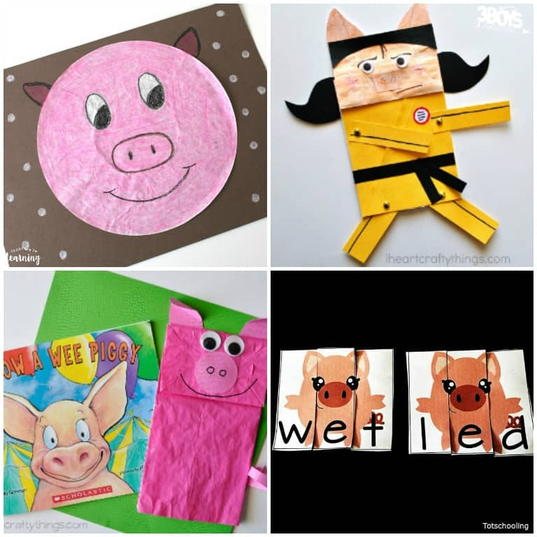 Pig Crafts and Activities for Kids to Try