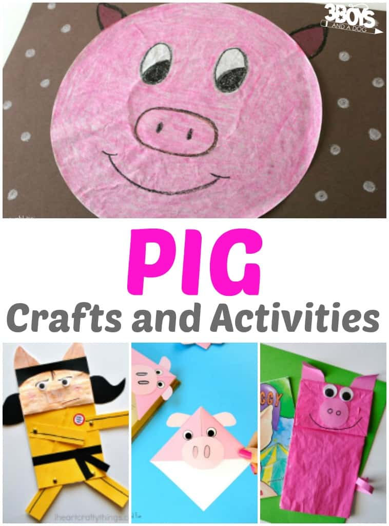 Pig Crafts and Activities