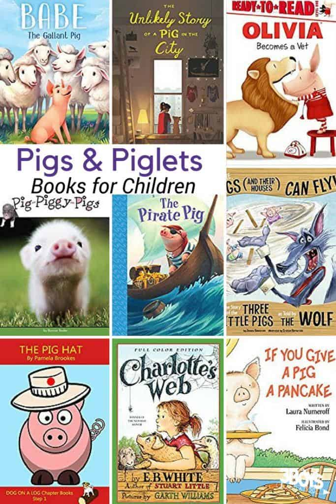 Pigs Books for Kids