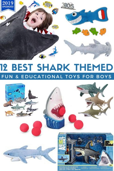 really wow with any of these 12 shark toys for boys