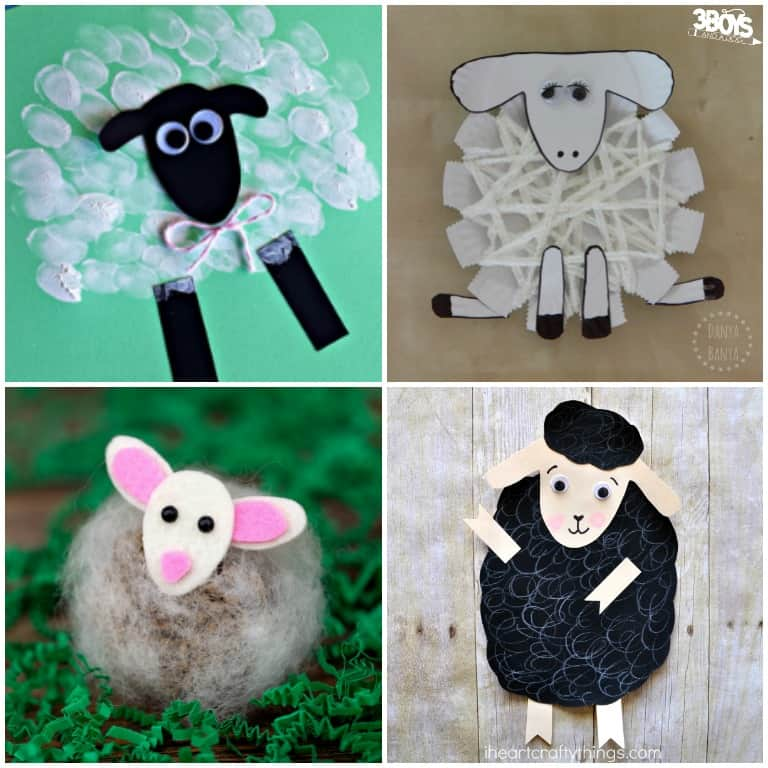 Sheep Crafts and Activities for Kids to Make