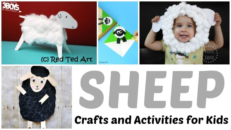Sheep Crafts and Activities for Kids