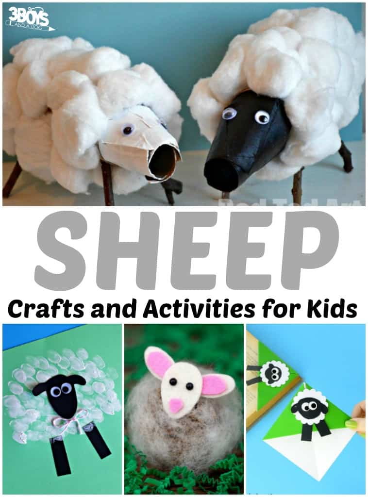 Sheep Crafts and Activities