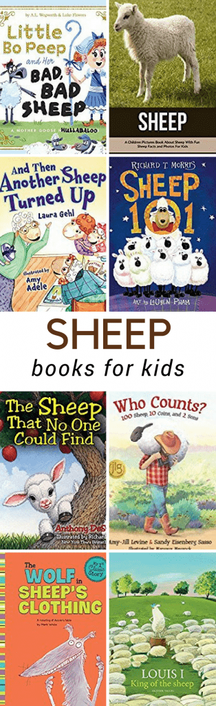 Sheep or Lamb Books for Kids