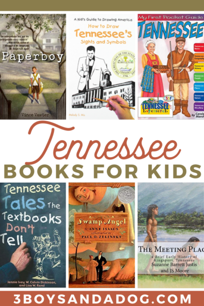 grab some of these books about Tennessee for your child