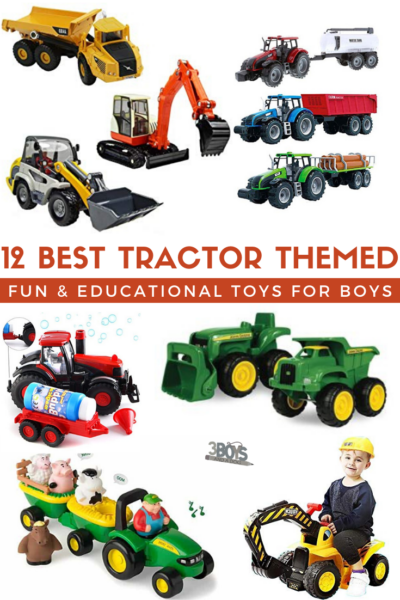 must have tractor themed fun and educational gifts for boys