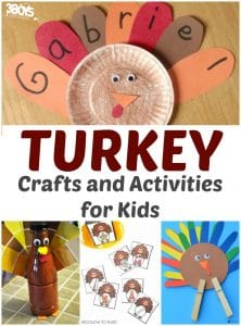 Turkey Crafts and Activities