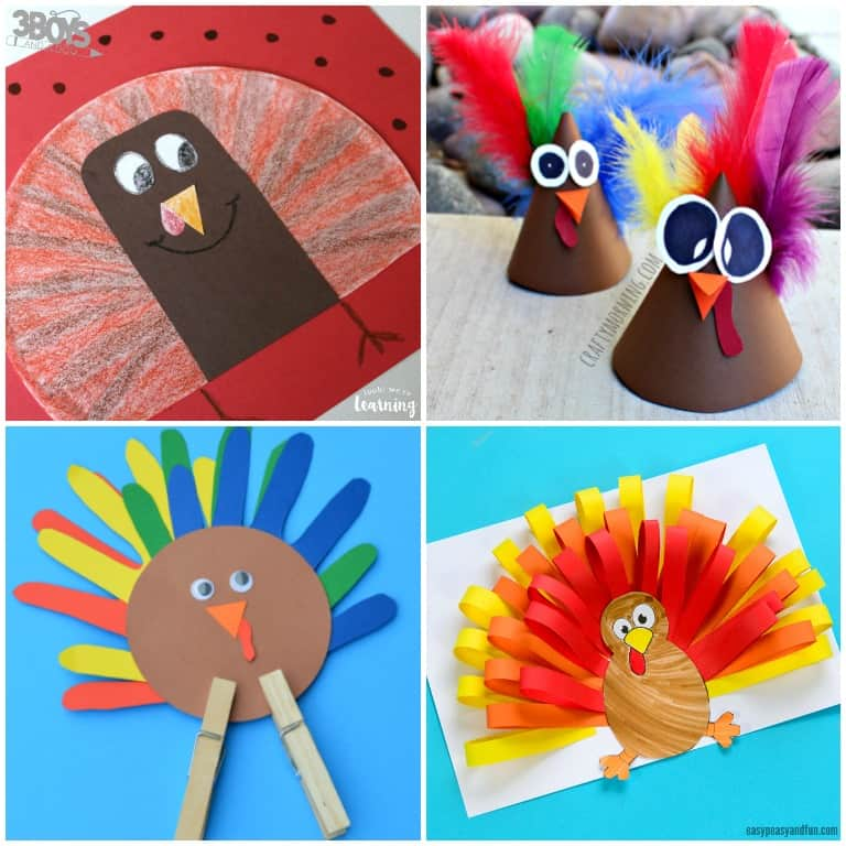 Turkey Crafts and Activities for Kids to Make