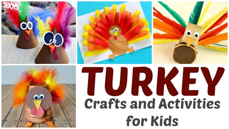 Turkey Crafts and Activities for Kids