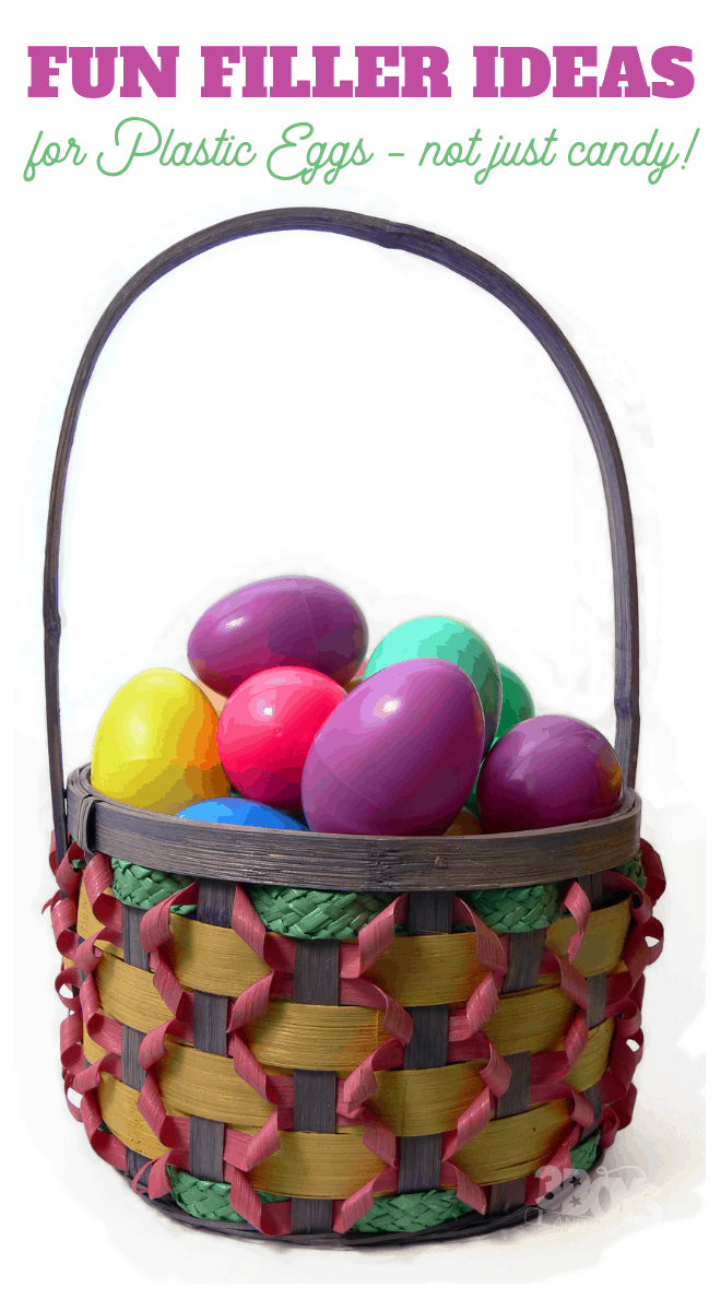 Easter Egg Fun Filler Ideas