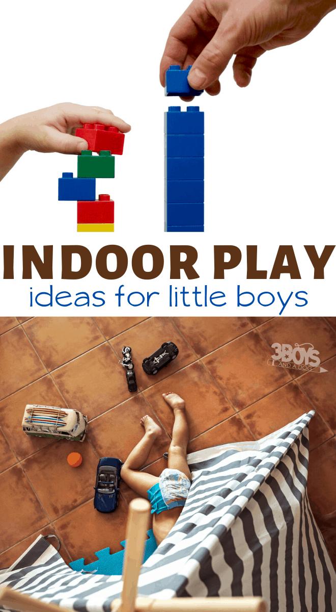 indoor activities for little boys