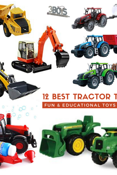 really wow with any of these 12 tractor toys for boys