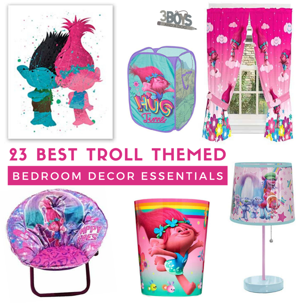 trolls bedroom must have decorations and accessories