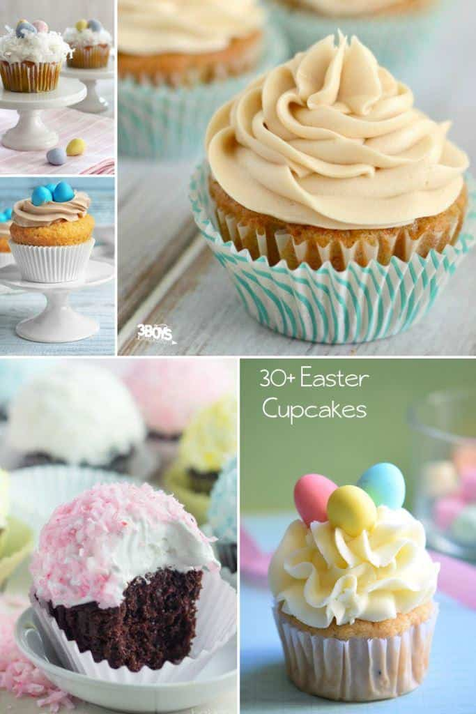 30+ Easter Cupcakes - The Ultimate List of Easter Cupcake Ideas