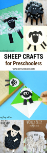 Sheep Crafts for Preschool