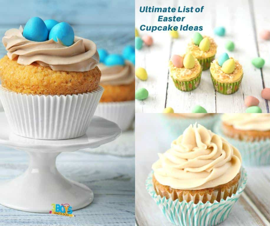 Over 30 Easter Cupcake Recipes