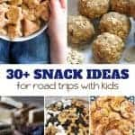 Pack a few of these Snack Ideas for Road Trips with Kids