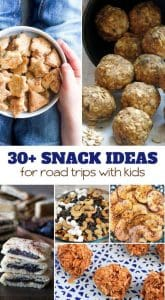 Snack Ideas for Road Trips with Kids