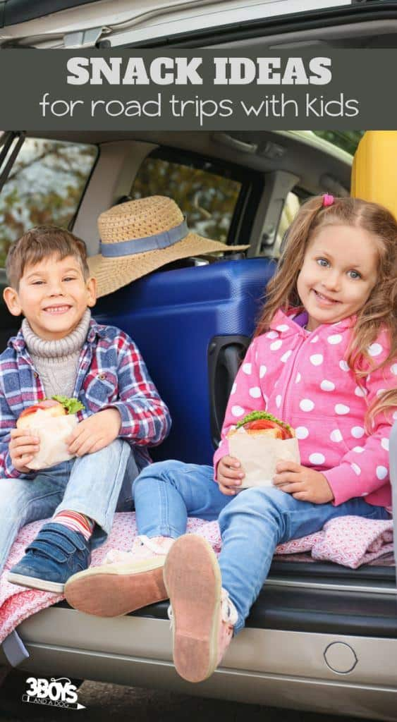 over 30 snack ideas for road trips with kids