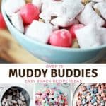 Over 15 Muddy Buddies Snack Recipes