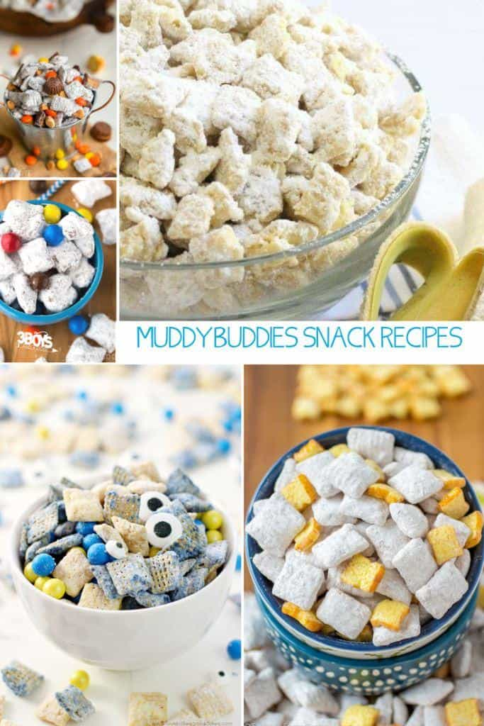 muddy buddies snack recipes