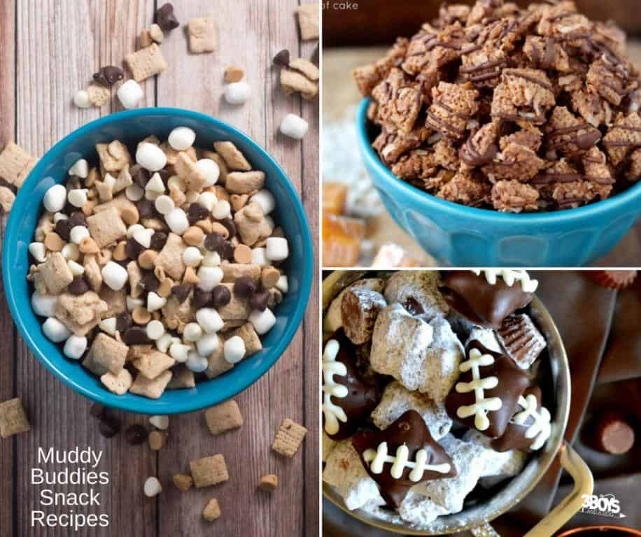 Over 15 Muddy Buddies Snack Recipes