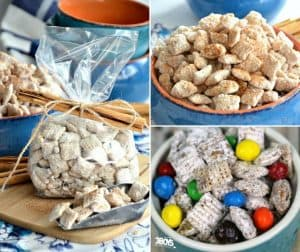 a dozen puppy chow snack mix recipes