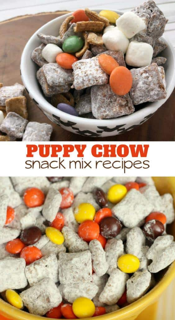delicious puppy chow chex mix recipes