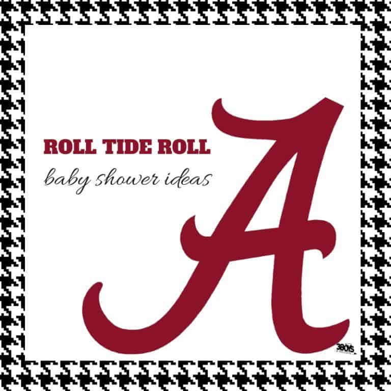 roll tide roll baby shower ideas
