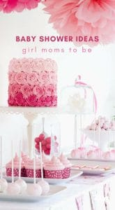 baby shower for a little girl