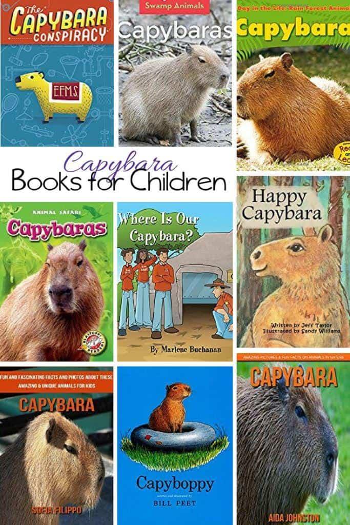 Capybara Books for Children