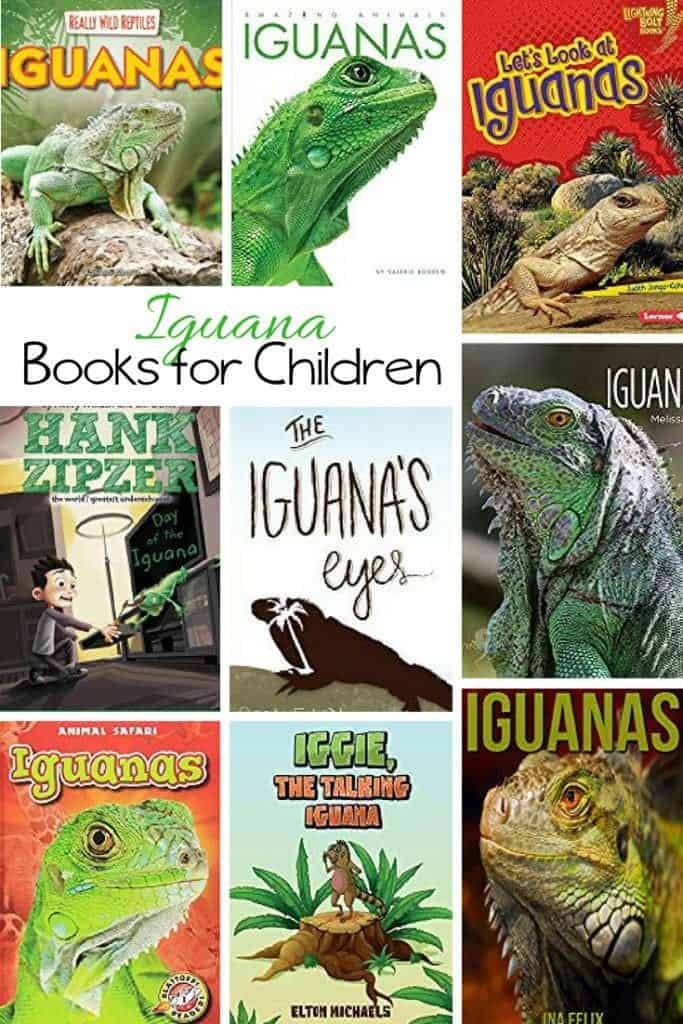 Kids Books about the Iguana