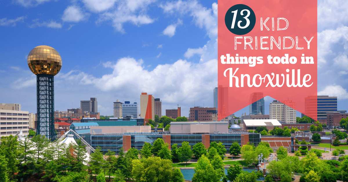Have fun with the kids in Knoxville with these kid friendly attractions.
