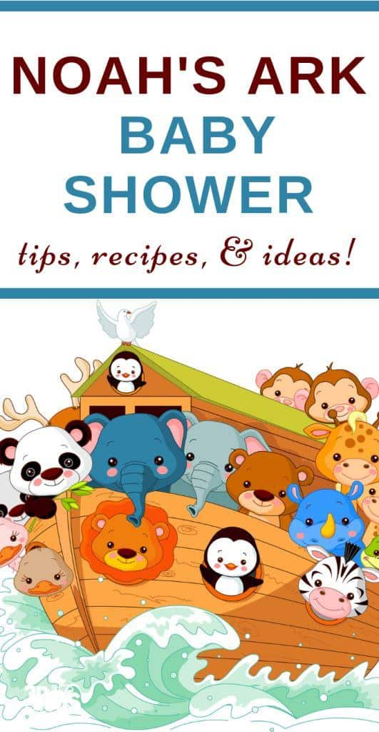 Noah's Ark Baby Shower Ideas