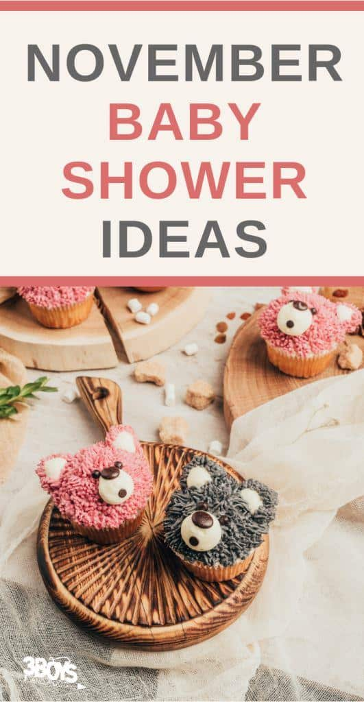 Ideas for a November Baby Shower (1)