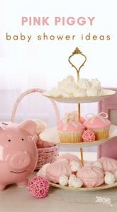 Pink Piggy Baby Shower Ideas