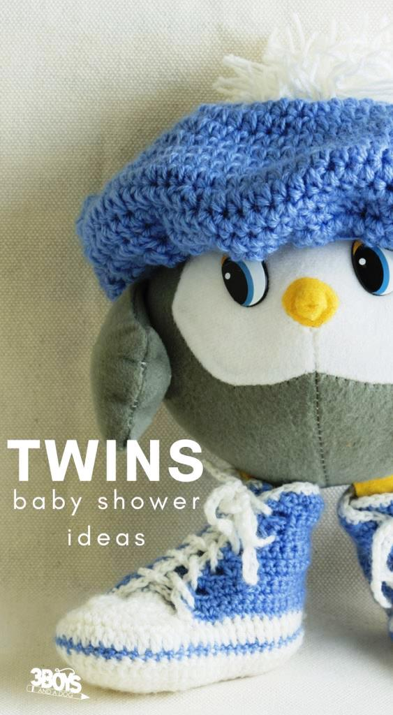 twins baby shower ideas