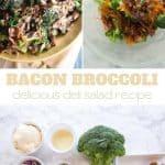 bacon and broccoli easy salad recipe