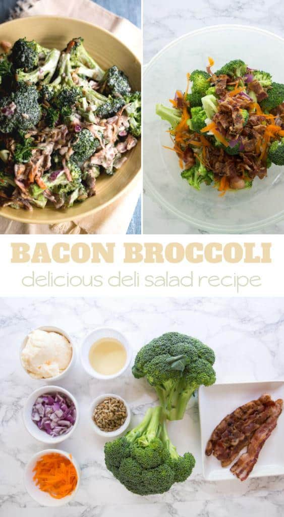 bacon and broccoli easy salad recipe