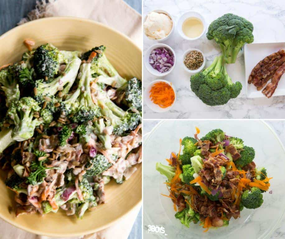 fairly healthy bacon broccoli salad recipe
