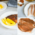 blackened tilapia fish recipe with step by step instructions