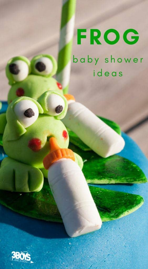 sweet froggy baby shower ideas for boys and girls